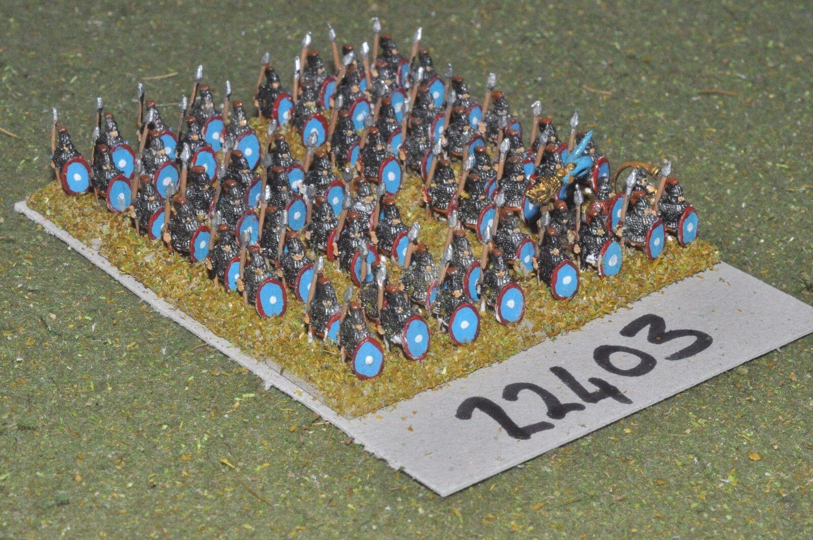 10mm época Romana Romana-Late legionarios 64 higos-INF (22403)