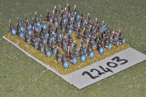 Epoque romaine 10mm / - Légionnaires tardifs 64 Figs Inf (22403)