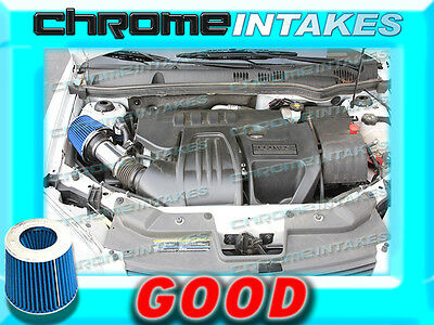 BLACK BLUE 2008-2012//08-12 CHEVY MALIBU 2.4L I4 FULL AIR INTAKE KIT