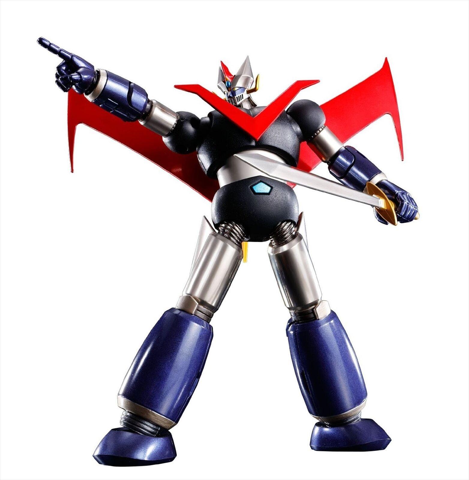 Bandai Super Robot Chogokin Great Mazinger Kurogane Finner ver.Åtgärd Figur