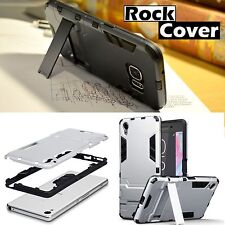 Original Sony Xperia XZ Rugged Armour Multi Tech Survival Case Rock Cover Silver