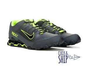 aec099c919eb Nike Reax TR 8 Running Cross Training Shoes Sneakers MENS Black Volt ...