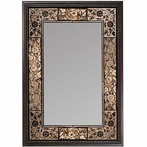 Modern Rectangular Wall Mirror Frame With Large Rectangle Vanity Accent Bathroom