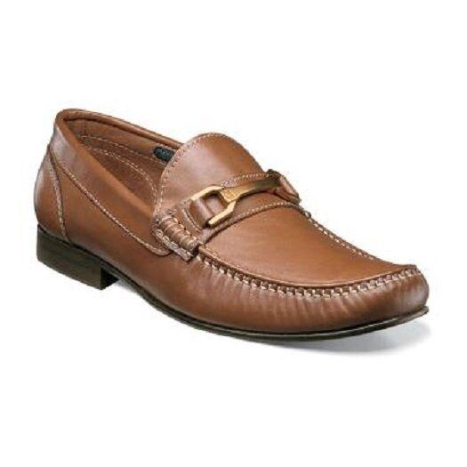 Florsheim Boca Bit Slip Mens shoes elegance Cognac Leather loafer 12145-221