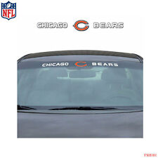 Brand New NFL Chicago Bears Car Truck SUV Windshield Window Decal Sticker
