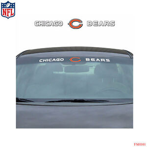 Brand New NFL Chicago Bears Car Truck SUV Windshield Window Decal - Window stickers for cars chicago