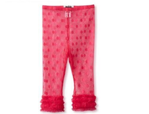 Mud Pie Spring Easter Baby Girl Pink or White Lace Capri Leggings Sizes 361009