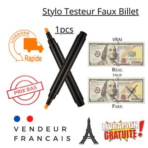 Stylo Feutre Testeur Détecteur de Faux Billet de Banque pour Commerce Marqueur