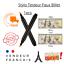 miniature 1 - Stylo Feutre Testeur Détecteur de Faux Billet de Banque pour Commerce Marqueur