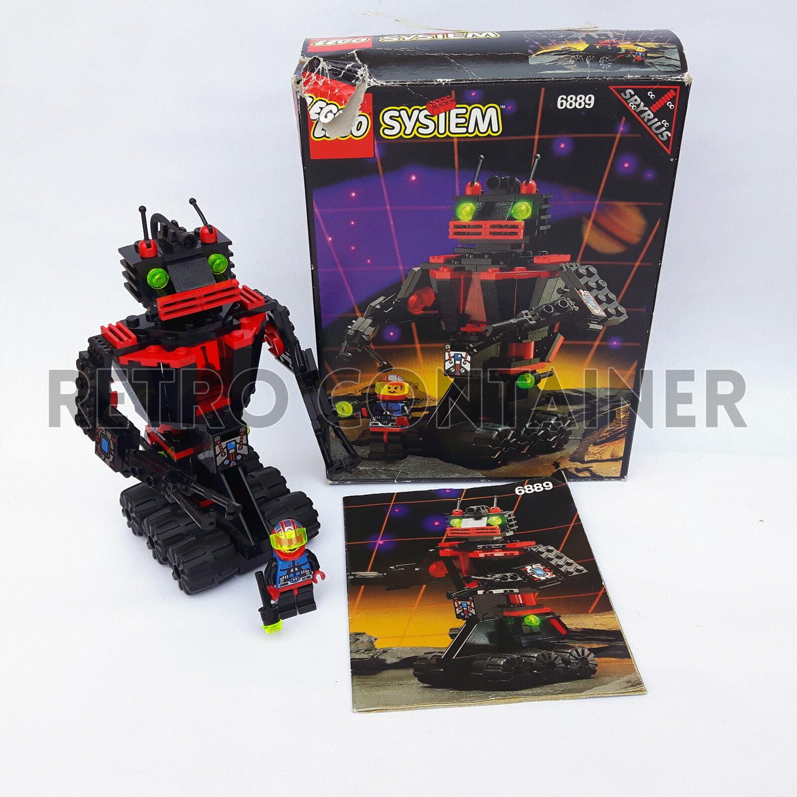 LEGO Set 100% Completo 6889 - Recon Robot - 1994 Spyrius Vintage Space Classic