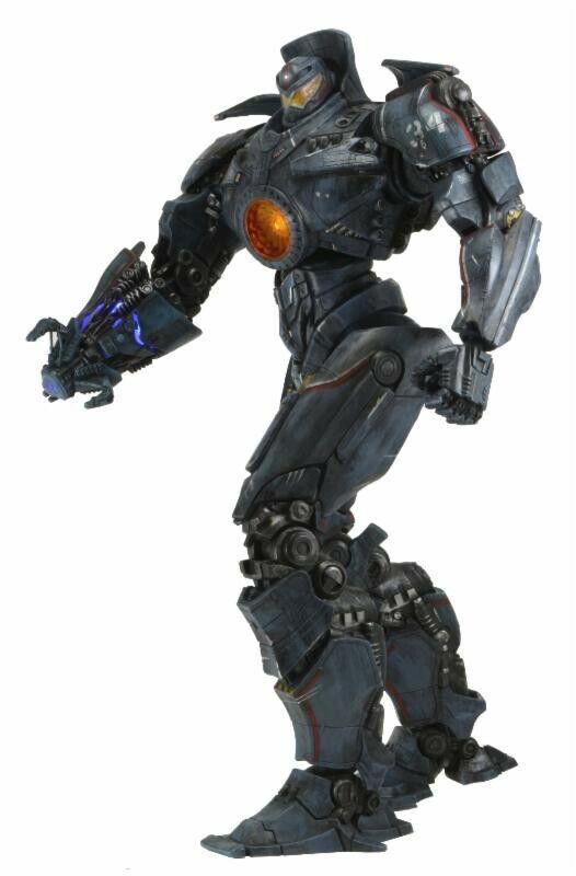 NECA Pacific Rim Ultra Deluxe Gipsy Danger Action Figur [slåss Damaged]