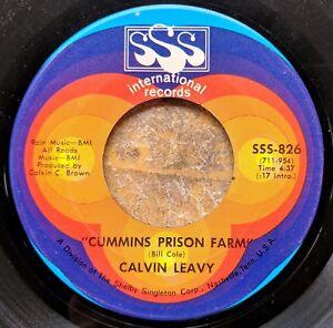 ARKANSAS-BLUES-HIT-45-CALVIN-LEAVY-Cummins-Prison-Farm-Brought-You-to-the-City