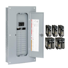 Indoor Main Breaker Plug On Neutral Load Center Box 100 Amp 24 Space 48 Circuit