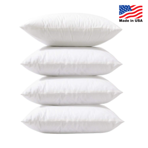 Euro-Pillow-Insert-Square-Throw-Pillow-Inserts-Hypoallergenic-USA-Made-Set-of-16