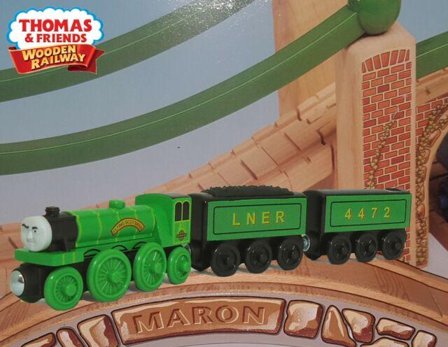 Flying Scotsman Train Engine Thomas Wooden Railway Fisher Y6784