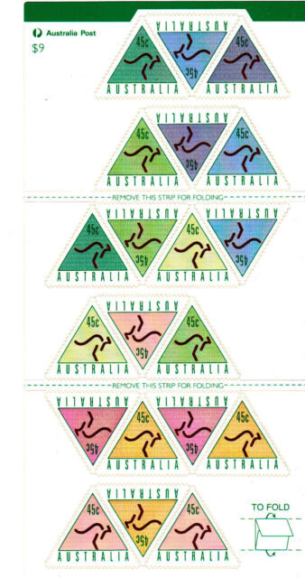 1994 ATM Stamps - Stamp Booklet - Advance Bank