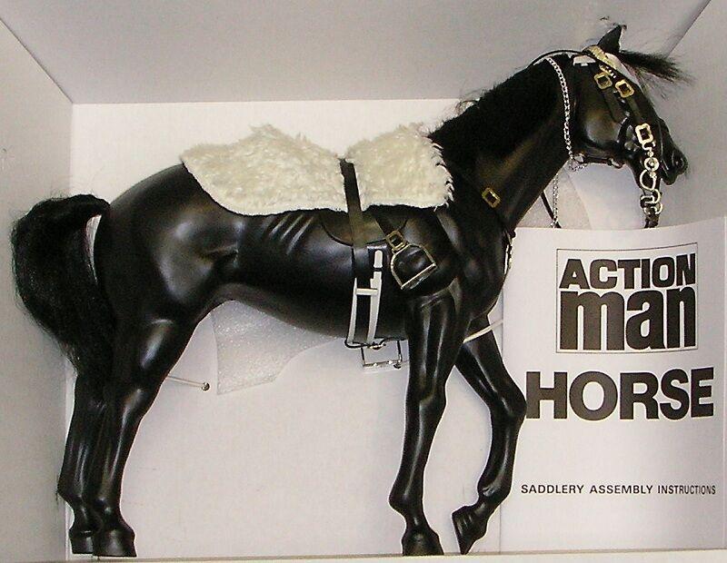 VINTAGE ACTION MAN 40th LOOSE HORSE NO BOX 4 DID DRAGON IN DREAMS blueES & ROYALS