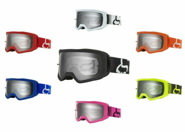 Fox Racing Main 2017 MX//Offroad Goggles Matte Black//Clear