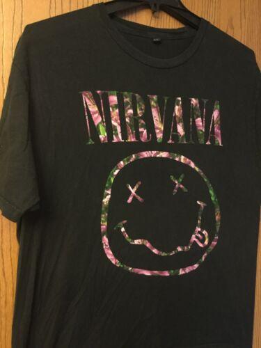 Nirvana.   Shirt.  Black.  XL