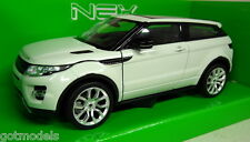 Nex models 1/24 Scale 24021 Range Rover Evoque white Diecast model car