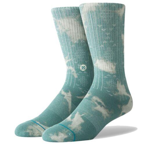 Stance NEW Men/'s Estero Socks Sea Green BNWT