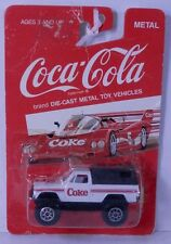 Hartoy 1980s Chevrolet C/K Pickup Truck COKE Coca-Cola White 4x4 1/64 China