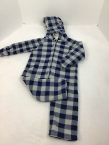 Old Navy Baby Infant 18 24 Snowsuit Bunting Blue White