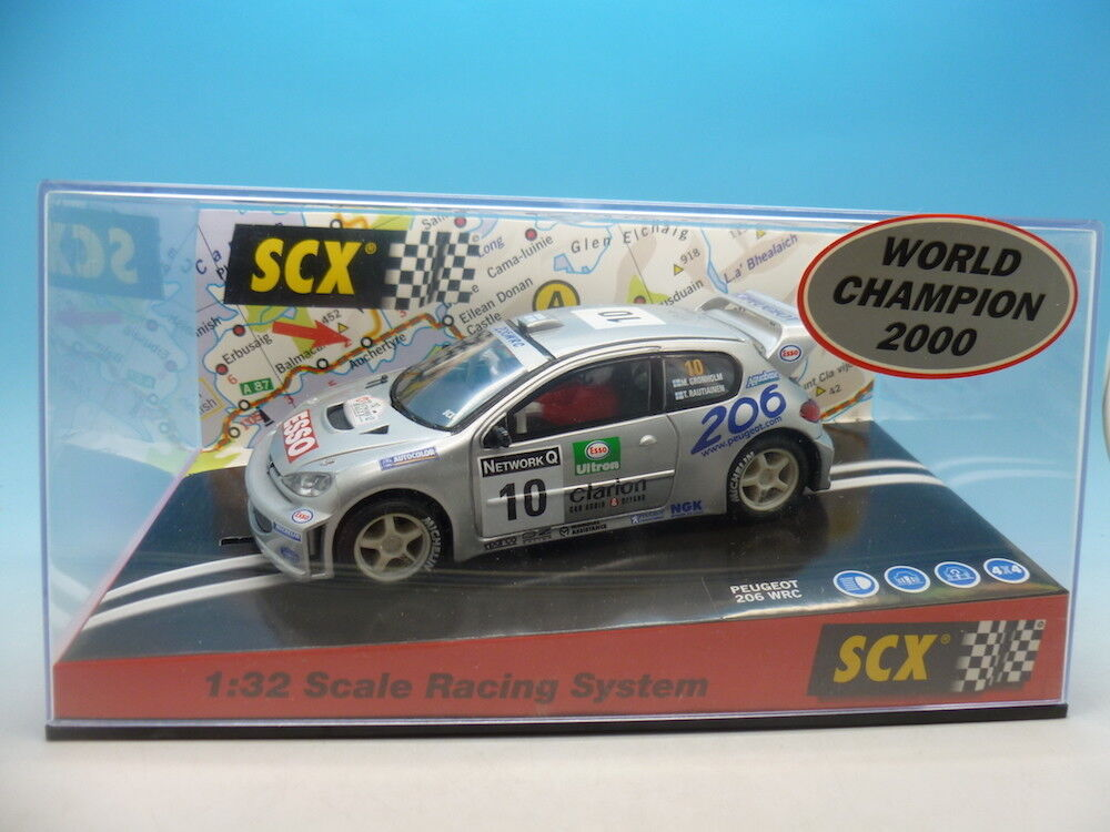 SCX 60640 Peugeot 206 WRC World Champion 2000 mint unused