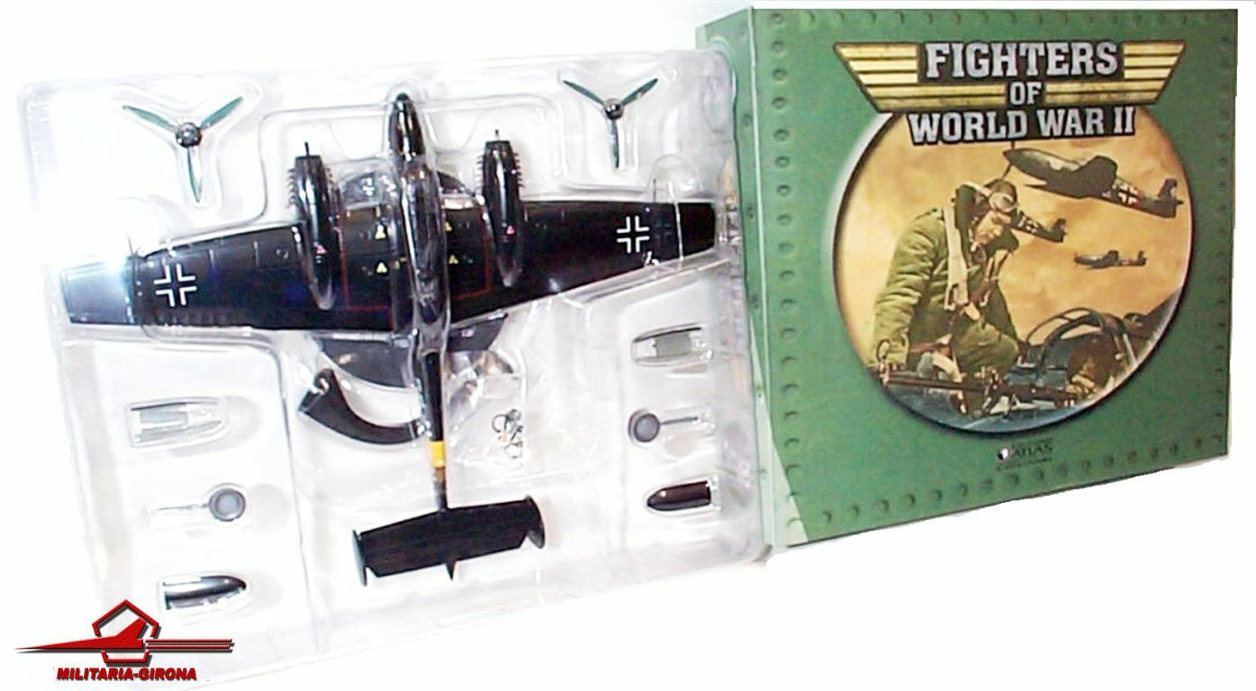 Messerschmitt Bf 110 110 110 E-2 Hans-Wolfgang Schnaufer 1 72 Atlas Editions Fighters 9a37db