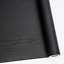 """Abyssaly 24/"""" X 118/"""" Black Wood Contact Paper Decorative Self-Adhesive Film Real"""