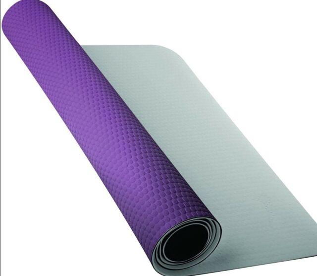 Nike Fundamental Yoga Mat Training Mat 3mm Ocean Blue For Sale Online Ebay