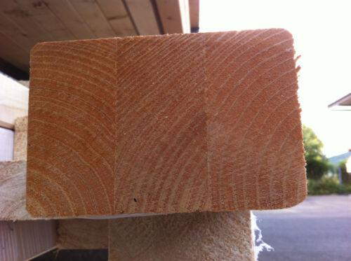Balken gehobelt und gefast Leimholz 6 x 12 CM BSH Fichte Brettschichtholz