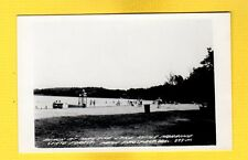 RPPC New Prospect,Fond Du Lac County,WI Wisconsin,Beach at Mauthe :Lake