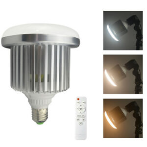 Image Is Loading Pro 85w E27 3200k 5500k Dimmable Led Light