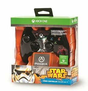POWERA-STAR-WARS-WIRED-CONTROLLER-BOBA-FETT-FOR-XBOX-ONE-BRAND-NEW