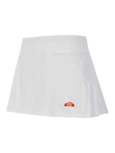 White Ladies ellesse Freya semi pleated Tennis Skirt