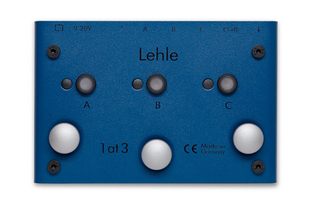 Lehle 1 at 3 SGoS Switcher - 1 instrument to 3 amps