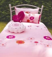Koodledoodle Single Bed Linen Set Flowers Theme Kimoko