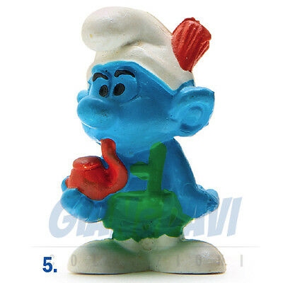 Forte Puffo Puffi Smurf Smurfs Schtroumpf 2.0081 20081 Tyrolese Puffo Tirolese 5a Dolorante
