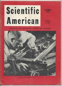 Scientific American Magazine October 1943 WWII Air Transport Planes