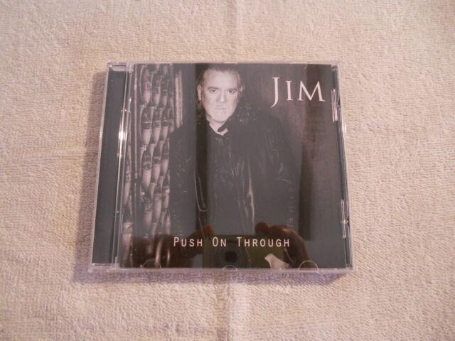 "Jim ""Push on Through""  2017 cd AOR Heaven Records Alien"