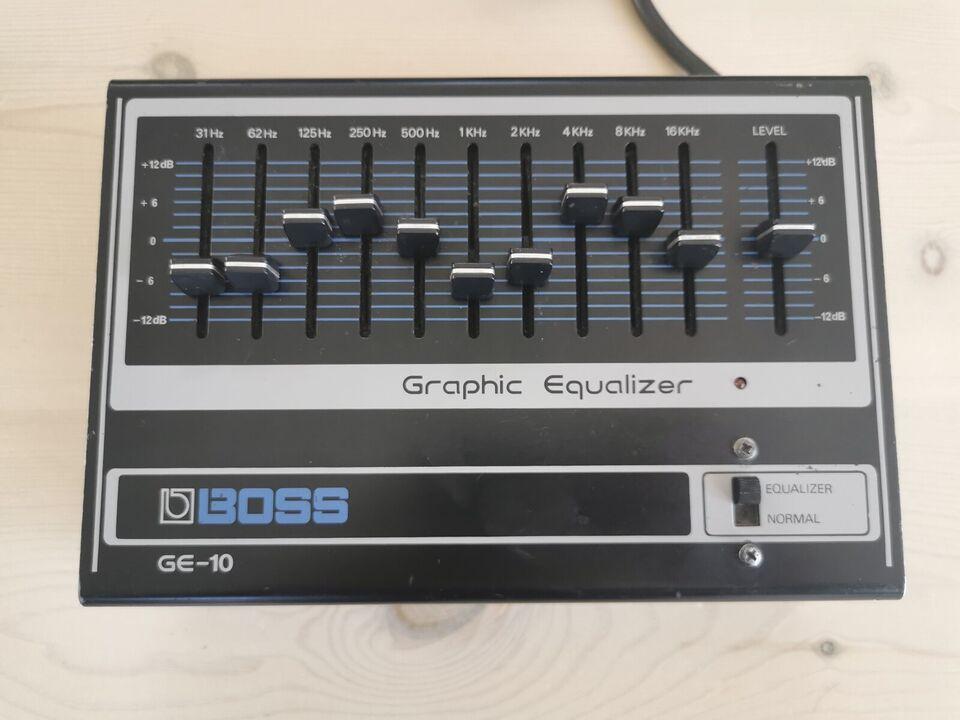 Equalizer, Boss GE-10
