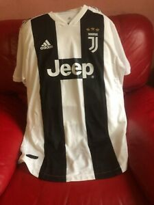 Adidas Juventus Jeep Jersey Soccer Team Authentic 18 And 19 Mens ...