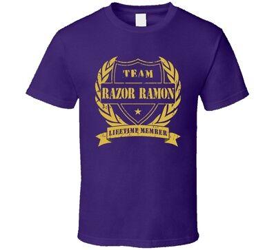Razor Ramon Team Lifetime Member Wrestling T Shirt