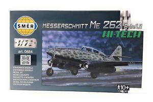 SMER-Modellbau-Modellbausatz-Militaer-1-72-Flugzeug-Messerschmitt-Me-262-B-1a-U1