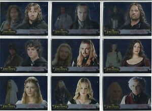 Lord-Of-The-Rings-Evolution-Complete-Evolution-B-Chase-Card-Set-1B-12B