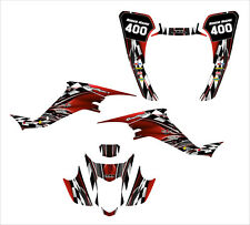 LTZ400 KFX 400 graphics kit for 2003 2004 2005 2006 2007 2008 #2500-RED