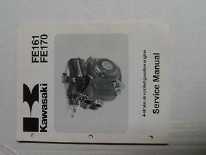 kawasaki fe161 fe170 engine service manual kawasaki small engine ebay rh ebay com Kawasaki Engine Troubleshooting Kawasaki Small Engine Repair Guide