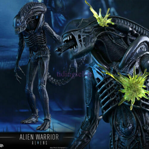 En Stock Hot Juguetes 1 6 Aliens MMS354 Alien Warrior 30th aniversario de extranjeros Juguete