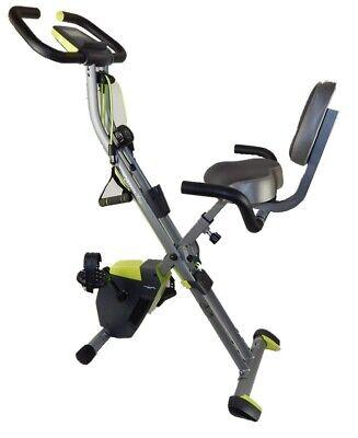 Wonder Core CYCLE Heimtrainer Fahrrad Klappbar Rückenlehne Ergometer Fitnessbike